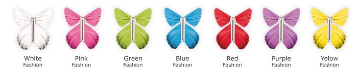 7 Modèles de papillons pour associer à votre Coeur Magique