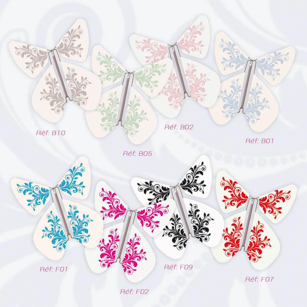 Le Papillon Magique Collection FLEUR BAROQUE