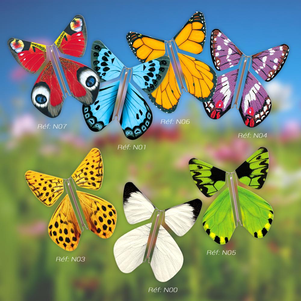 Le Papillon Magique collection NATURE SAUVAGE