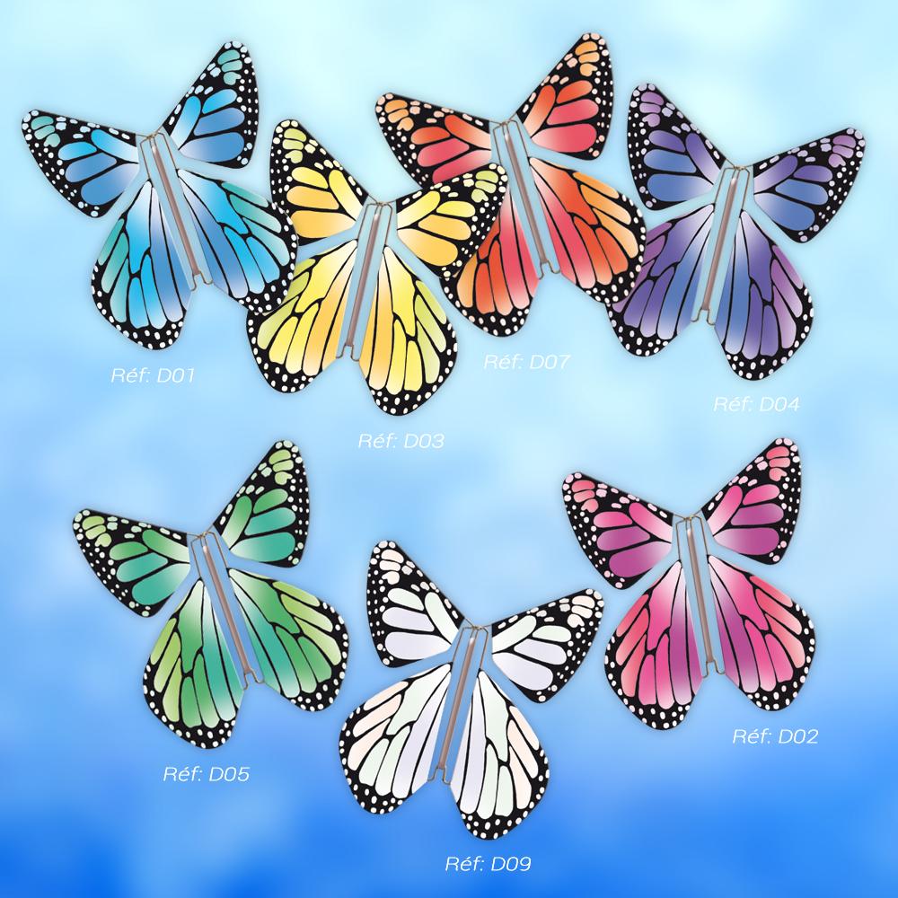 Le Papillon Magique collection NEW CONCEPT