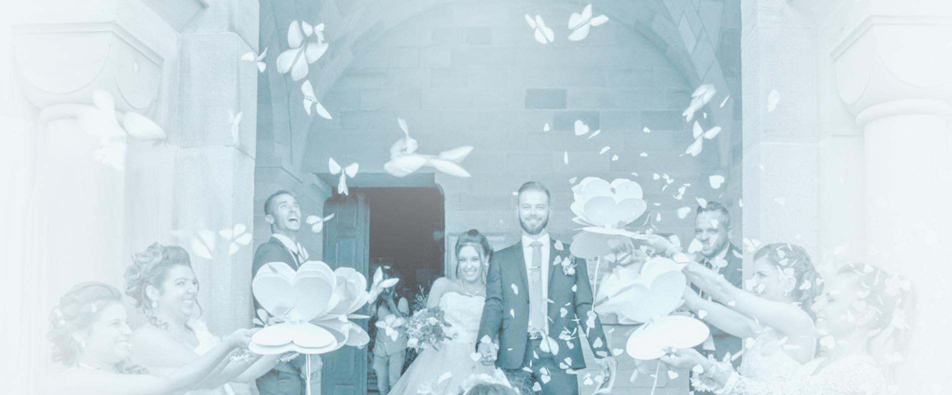 Sortie de mariage extraordinaire avec le Coeur Magique