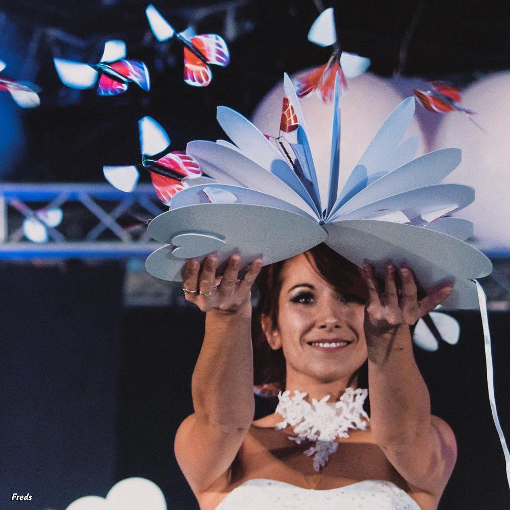 Sorties de mariage spectaculaires : pensez au coeur magique et donnez une autre dimension à votre événement