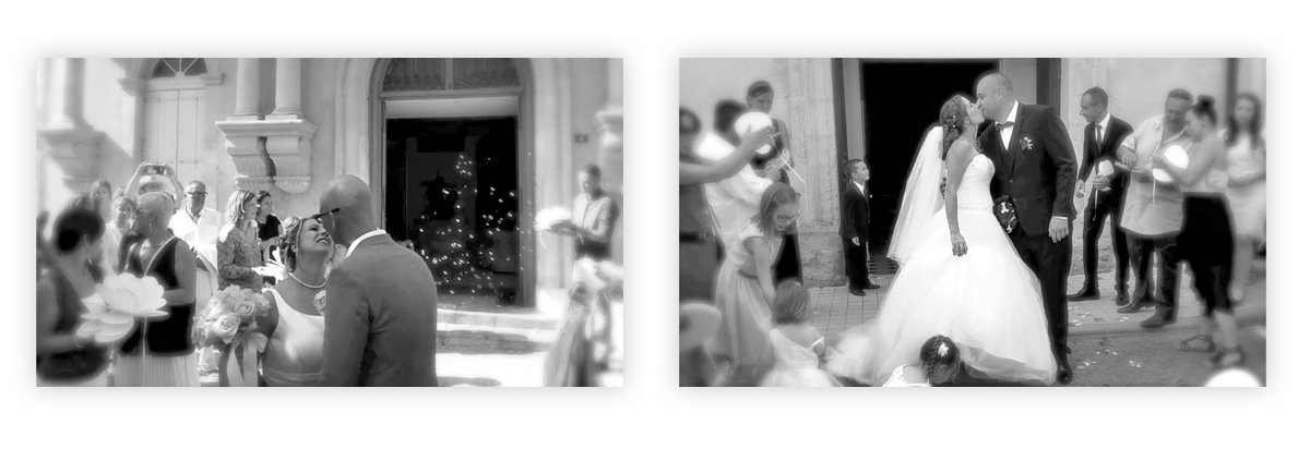 Les plus beaux baisers de mariage