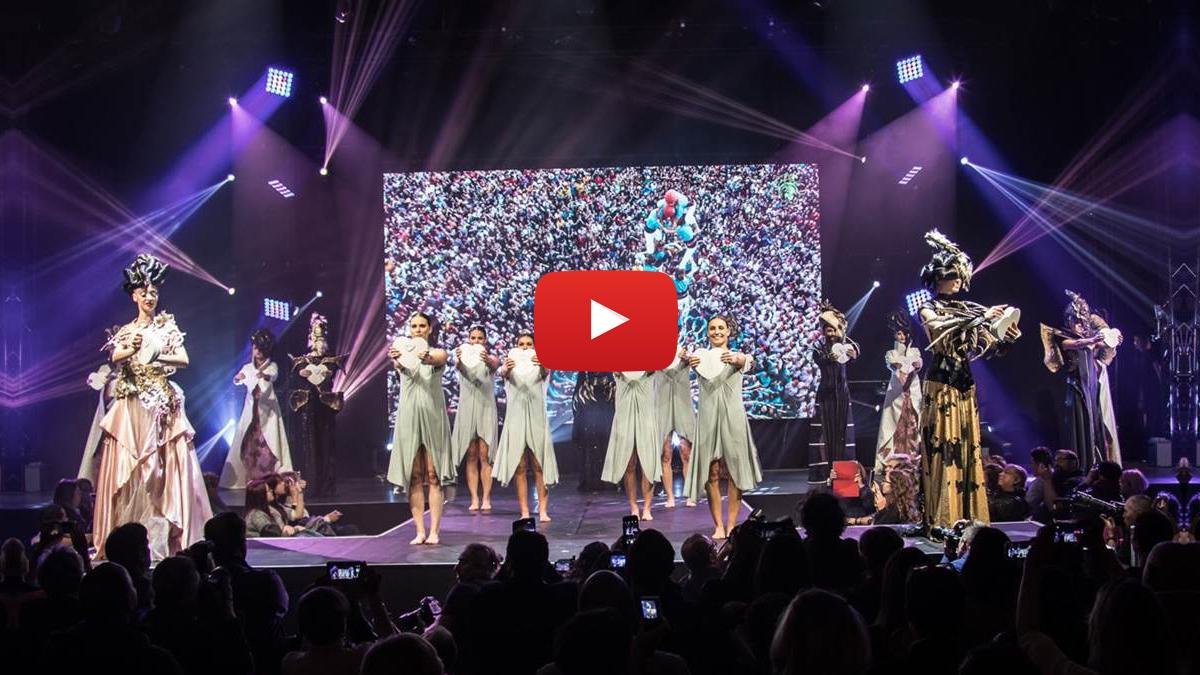 Le Papillon Magique fait sensation au MCB Beauty Sélection 2017
