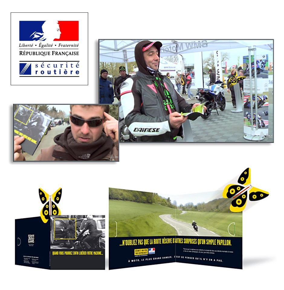 Campagne nationale de sensibilisation originale avec la Sécurité Routière ! Le Papillon Magique | Magic Flyer International