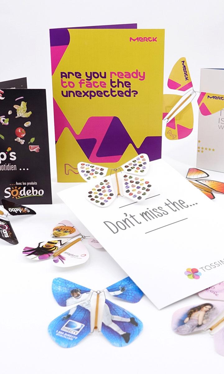 Le Papillon Magique pour vos communications d'entreprise personnalisées