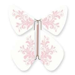Papillon Fleur Baroque Rose Pastel