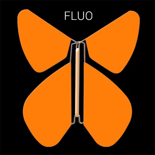 Papillon Fluo Orange