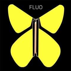 Papillon Fluo Jaune