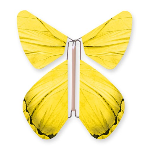 Papillon Impulsion Jaune