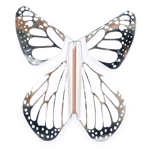 Papillon New Concept Metal Argent