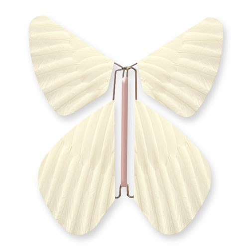 Butterfly Feathers Light Yellow