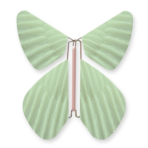 Butterfly Feathers Sea-Green