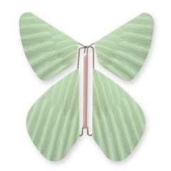 Papillon Plume Vert d'eau