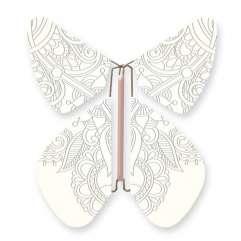 Butterfly TATTOO SILVER Metal