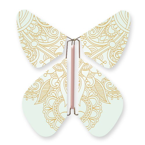 Papillon TATTOO Metal CUIVRE