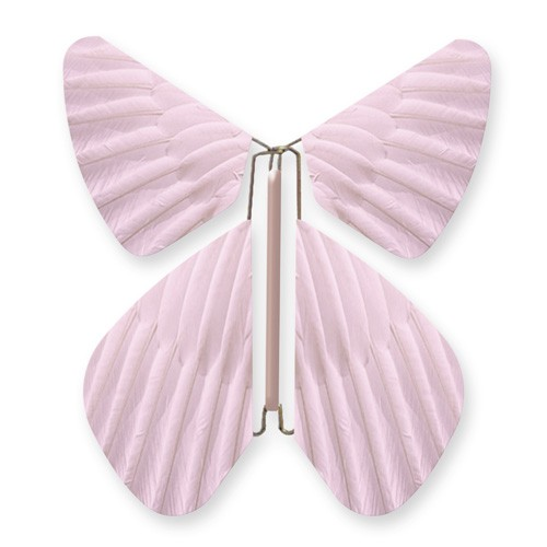 Butterfly Feathers Light Pink