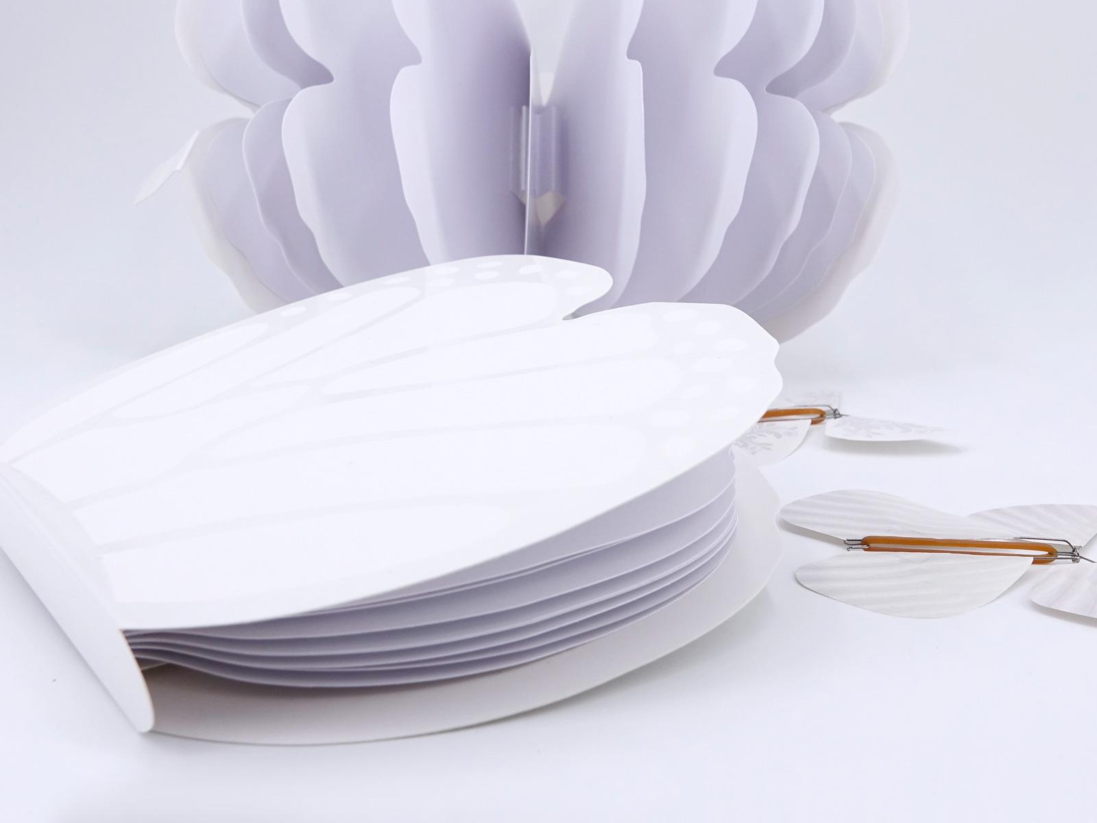 Livret Papillon Magique Blanc
