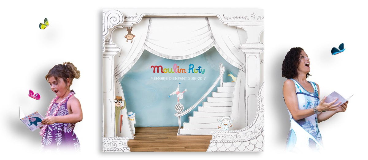 Moulin Roty distributes The Magic Butterfly in 1000 points of sale in 60 countries